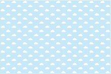 Matt Fototapete No.YK54 Wolken Hellblau 1,9 m x