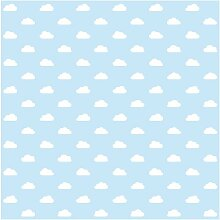 Matt Fototapete No.Yk54 Wolken Hellblau 1,92 m x