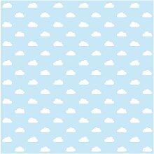 Matt Fototapete No.Yk54 Wolken Hellblau 3,36 m x