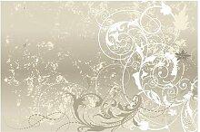 Matt Fototapete Perlmutt Ornament Design 3,2 m x