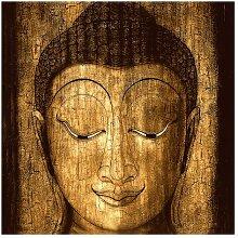 Matt Fototapete Smiling Buddha 2,88 m x 288 cm