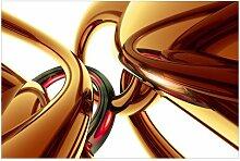 Matt Fototapete Stunning Gold Style 2,55 m x 384