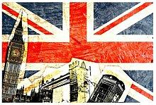 Matt Fototapete This Is London! 1,9 m x 288 cm
