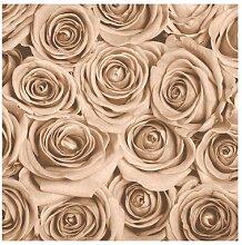 Matt Fototapete Vintage Rosen 2,4 m x 240 cm