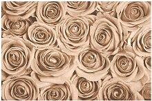 Matt Fototapete Vintage Rosen 2,55 m x 384 cm East