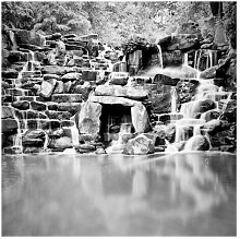 Matt Fototapete Wasserfall II 2,4 m x 240 cm East