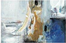 Matt Fototapete Wechselspiel Abstrakt I 3,2 m x