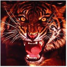 Matt Fototapete Wilder Tiger 1,92 m x 192 cm East
