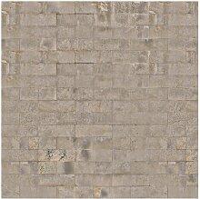 Matt Fototapete Ziegel Tapete Beton 1,92 m x 192