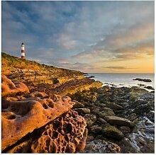 Matte Fototapete Suffolk Haus am Meer