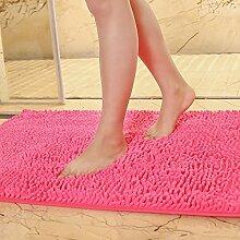 Matte, Fußmatte, (Schlafzimmer, Bad, Badezimmer, Anti-Skid, Wasseraufnahme), 70 X 180 Cm Fenster Pad, Pflaume Ro