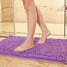 Matte, Fußmatte, (Schlafzimmer, Bad, Badezimmer, Anti-Skid, Wasseraufnahme), 70 X 180 Cm Fenster Pad, Viole