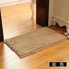 Matte, Fußmatte, (Schlafzimmer, Badezimmer, Küche, Matten, Wasser), 100 * 150 Cm, Kamel