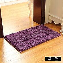 Matte, Fußmatte, (Schlafzimmer, Badezimmer, Küche, Matten, Wasser), 40 * 60 cm, Viole
