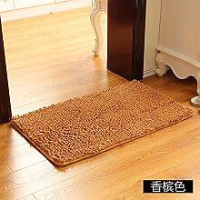 Matte, Fußmatte, (Schlafzimmer, Badezimmer, Küche, Matten, Wasser), 45 * 70 cm, Champagner