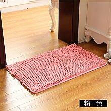 Matte, Fußmatte, (Schlafzimmer, Badezimmer, Küche, Matten, Wasser), 45 * 70 cm, Rosa