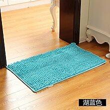 Matte, Fußmatte, (Schlafzimmer, Badezimmer, Küche, Matten, Wasser), 40 * 60 cm, blau