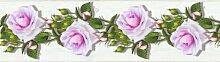 Matte Tapete Blumen 5 m x 14 cm 17 Stories