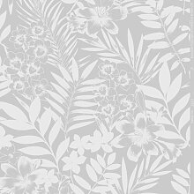 Matte Tapete Palm Springs Floral 10 m x 52 cm East