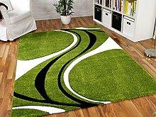 Maui Designer Teppich Grün 5 Style in Größen