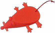 Maus geformte Türstopper Keil Tür Stopper doorstopshop–Rot–Lustiges Geschenk Weihnachten Geburtstag Neuheit Türstopper