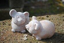 Mausepärchen,Terracotta,witzige
