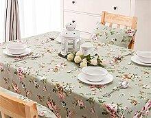 Max Home@ European-style Garten Blumentuch Tischdecken ( größe : 140×200cm )