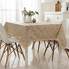 Max Home@ European-style Garten Blumentuch Tischdecken ( größe : Circular 120cm )