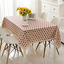 Max Home@ Frische Spitze-Gewebe-Erdbeere Tischdecke / Gastronomie ( größe : 120*120cm )