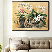 Max Home@ Meter-Box Malerei Distribution Box Elektro-Box einfache moderne Block der Wohnzimmer Malerei Frameless Malerei ( Farbe : Hydraulic pressure , größe : 49*69cm )