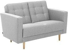 Max-Winzer®-2-Sitzer-Sofa »Janny«, hellgrau
