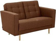 Max-Winzer®-2-Sitzer-Sofa »Janny«, rostrot