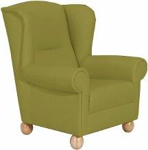 Max Winzer 6527-1100-2070103 Sessel Merle, Einzelsessel, Kunstleder, grün