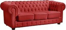 Max Winzer® Chesterfield-Sofa Windsor, mit edler
