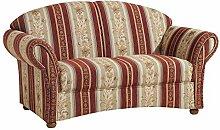 Max Winzer® Sofa 2-Sitzer Corona, rot, Chenille,