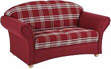 Max Winzer® Sofa 2-Sitzer Corona, rot,