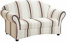 Max Winzer® Sofa 2-Sitzer Corona, weiß,