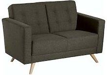 Max Winzer Sofa 2-Sitzer Julian - braun