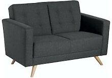 Max Winzer Sofa 2-Sitzer Julian - graphit