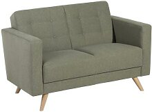 Max Winzer Sofa 2-Sitzer Julian - grün