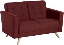 Max Winzer Sofa 2-Sitzer Julian - rot