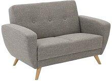 Max-Winzer®-Sofa, 2-Sitzer »Justus« mit grau