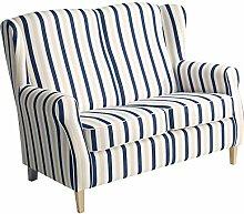 Max Winzer® Sofa 2-Sitzer Lorris, blau,