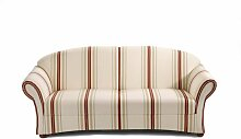 Max Winzer Sofa Corona 2,5 Sitzer mit Streifen