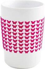 Maxi Becher 0,35l BUTTERFLY touch! Five Senses Pink Porzellan KAHLA (12,95 EUR / Stück)