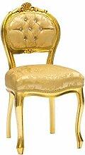 MAXIOCCASIONI Barock Stuhl mit Gold.