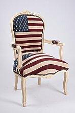 MAXIOCCASIONI Sessel Barock Flagge USA