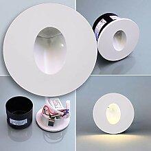 MAXKOMFORT® LED Treppenbeleuchtung 230V warmweiß