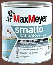 Maxmeyer Wasserlack aus Polyurethan, satiniert,