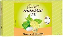 MAXTRIS | Italienische Mandel Konfetti | LIME | 1 Kg.